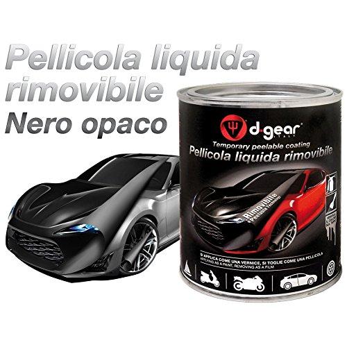 Vernice-pellicola a spruzzo Pellicola spray rimuovibile nero opaco D-GEAR 417771
