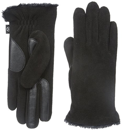 Isotoner Women's Smartouch Stretch Fleece Glove, Black, for sale  Delivered anywhere in Canada