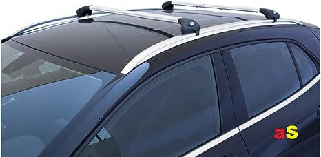 autoSHOP Barre PORTATUTTO per Auto Portapacchi Viva 2 Integrato in Alluminio per Auto