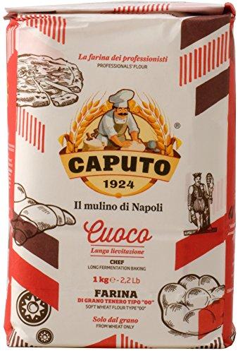 Caputo Sakkorosso pizza Lee Oro (Italy producing flour) 1kg (Rice White Pizza)