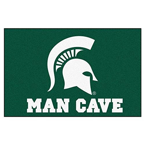 FANMATS 14568 Michigan State University Nylon Universal Man Cave Starter Rug