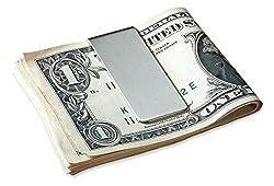 DEEZOMO Stainless Steel Slim Money Clip