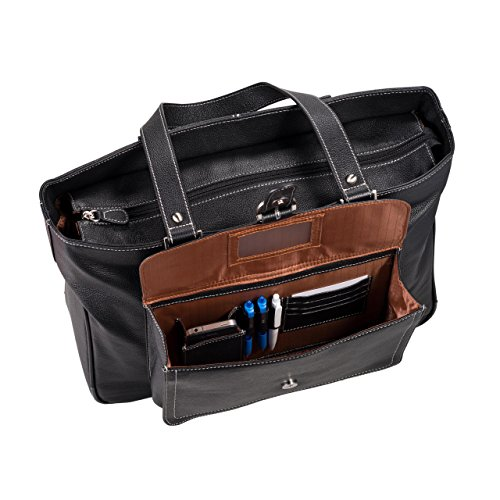 Clark & Mayfield Stafford Pro Leather Laptop Tote 17.3'' (Camel) by Clark & Mayfield (Image #2)
