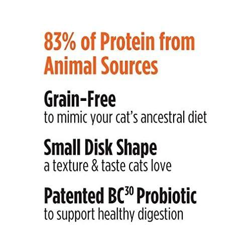 Nulo Grain Free Dry Cat Food with BC30 Probiotic (Chicken, Turkey, 5lb Bag, 12lb Bag)
