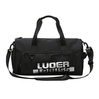a8809b223f15 asiproper Sports Gym Women Men Fitness Yoga Nylon Bags Travel Outdoors  Shoes Pocket Shoulder Handbags  Amazon.in  Shoes   Handbags