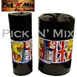 STRONG HEAVY DUTY DUSTBIN LINER BLACK BIN BAG 20 ROLLS or 50 ROLLS THICK RUBBISH SACKS - LARGE AND EXTRA LARGE (Pack Of 50)