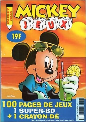 Mickey Jeux n° 78 - juin-juillet 1997 pdf, epub