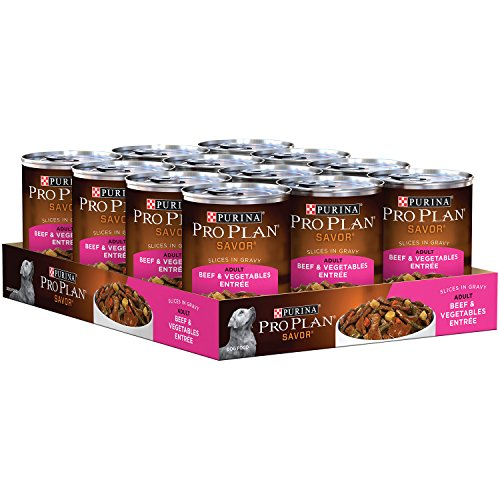 Purina-Pro-Plan-Wet-Dog-Food-Savor-Adult-Beef-Brown-Rice-Entre-Classic-13-Ounce-Can-Pack-of-12