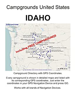 Amazon.com: Campground Directory IDAHO United States (incl ...