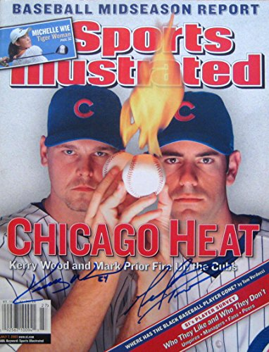 (Wood, Kerry & Prior, Mark 7/7/03 autographed magazine)