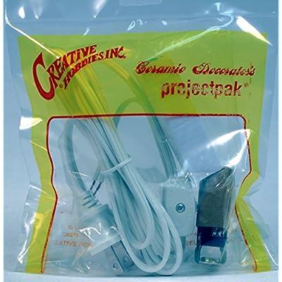 Creative Hobbies ML2-15B6 Medium Christmas Tree Wiring Kit, 15 watt Bulb, Great for Lighting Medium Size Objects