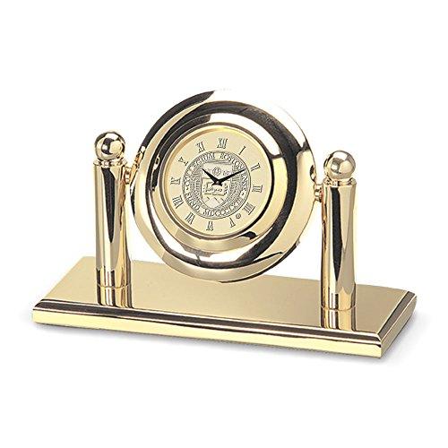 Eagles Adult Arcade Desk Clock, One Size, Gold ()