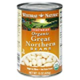 Westbrae Foods, Organic Beans; Great Northern, Pack of 12, Size - 15 OZ, Quantity - 1 Case