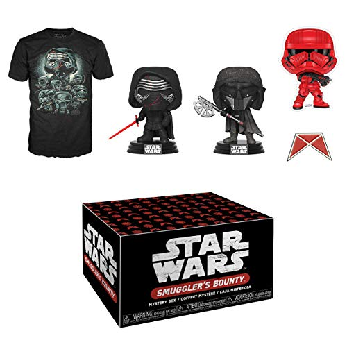 Funko Star Wars Smuggler's Bounty Subscription Box, Forces of Darkness, October 2019, Medium T-Shirt