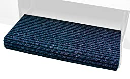 Prest-O-Fit 2-0422 Ruggids RV Step Rug Midnight Blue 23 In. Wide