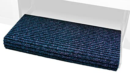 Prest-O-Fit 2-0420 Ruggids Granite Black 19 X 23 RV Step Rug