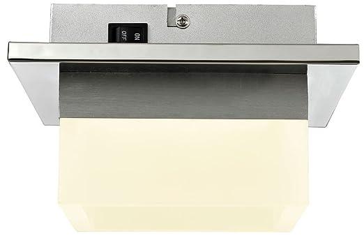 Deckenleuchte LED 8 Watt Wandlampe Beleuchtung Chrom Deckenlampe Esszimmer  Esto Rita 740038 1: Amazon.de: Beleuchtung