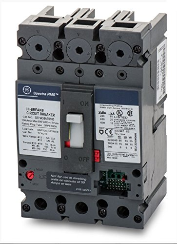 SCHNEIDER ELECTRIC 600-VOLT 150-AMP HDA36150 Molded CASE Circuit Breaker 600V 150A by Schneider Electric