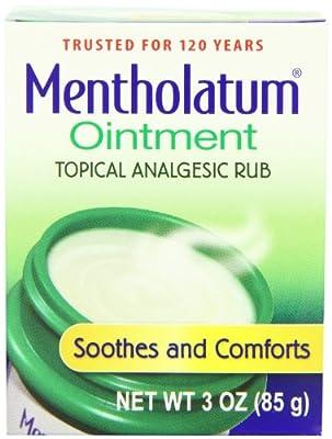 Mentholatum Ointment, 3 Ounce (85 g)