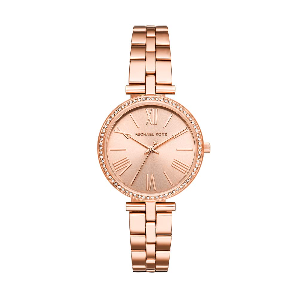 408678c97f6a Buy Michael Kors Maci Analog Gold Dial Women s Watch - MK3904 Online at Low  Prices in India - Amazon.in