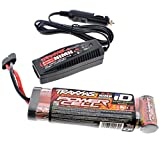 Traxxas 1 10 Ford Raptor Slash 2WD 3000 mAh NiMH 8.4V iD BATTERY & 4 AMP CHARGER