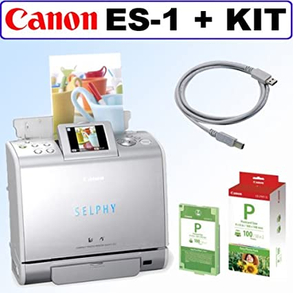 CANON SELPHY ES1 COMPACT PHOTO PRINTER DRIVER WINDOWS XP