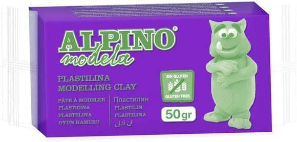 Alpino Plastilina 50G Caja 24 Unidades. (Violeta): Amazon.es: Juguetes y juegos