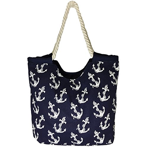 high-quality-zippered-white-anchor-prints-over-blue-background-rope-handle-large-roomy-canvas-tote-b