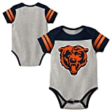 Outerstuff Chicago Bears Grey Toddler Onesie