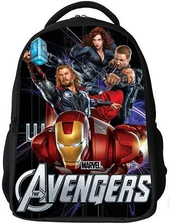 حقيبة ظهر/ سفر/ مدرسية قماشية مطبوع عليها رسوم متحركة / كرتون للاطفال والتلاميذ