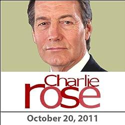Charlie Rose: Hisham Matar, David Ignatius, Lisa Anderson, and Ray Dalio, October 20, 2011