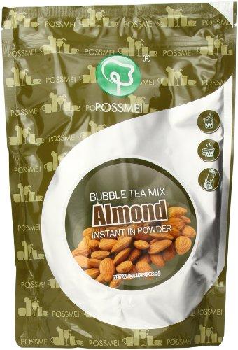 - Possmei Bubble Tea Mix Instant Powder, Almond, 2.2 Pound