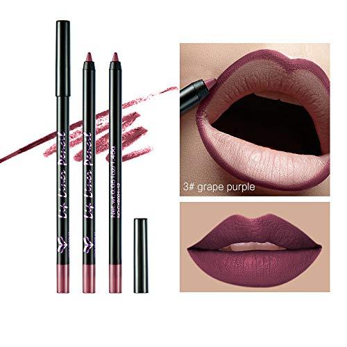 Jonerytime12Colors Long Lasting Lipstick Waterproof Matte Liquid Gloss Lip Liner Cosmetic (C) from Jonerytime_ Health and Beauty
