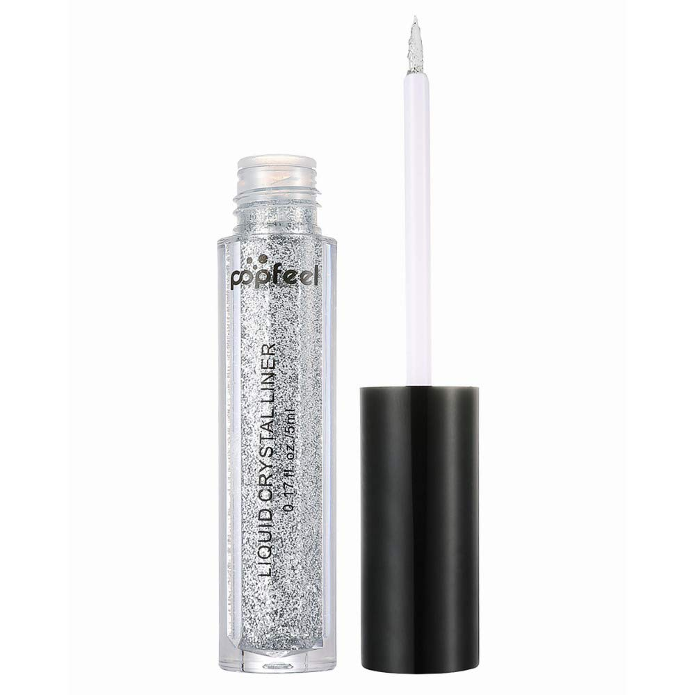 1 Pc Eyes Glitter Powder Pen Eye Shimmer Eyeliner Pencil Multifunctional Metallic Cream As Lip Gloss Eyeshadow Eyebrow 04 by WGRTT