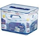Lock&Lock Classics Tall Rectangular Container with Handle and Tray, 10 Litres