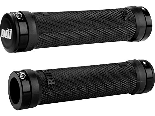 Odi Ruffian Bicycle Grip Bonus Pack (Black/Black)