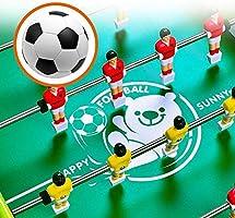 WNN-URG Mesa de futbolín Mesa- portátil Mini Futbolín Juego de ...