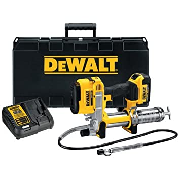 DEWALT 20V MAX Kit de pistola de grasa sin cable: Amazon.es: Bricolaje y herramientas