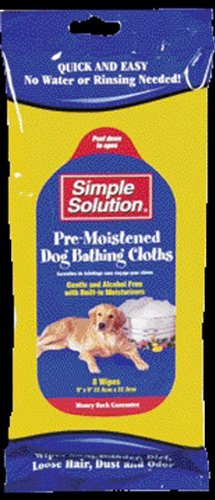 Simple Solution Bathing Wipes for Dogs, My Pet Supplies