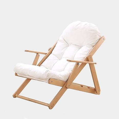 Amazon.com: Silla reclinable plegable para almuerzo, salón ...