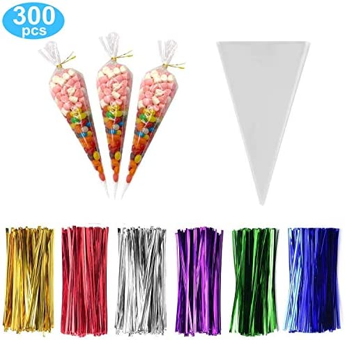 Clear Treat Cellophane Triangle Colors product image