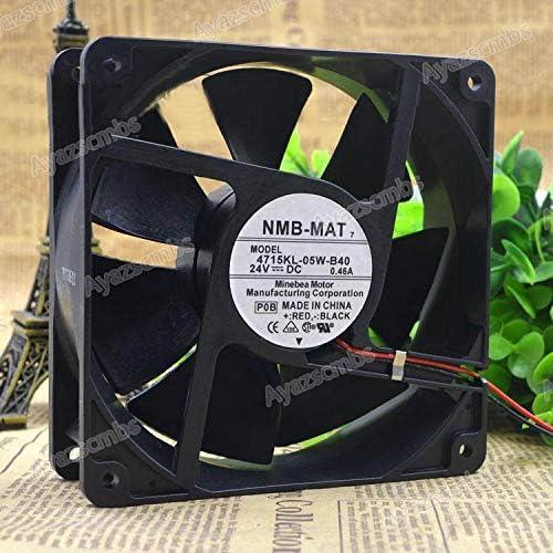 Ayazscmbs compatibili per NMB 4715KL-05W-B40 24V 0.46A 12038 12CM Inverter Raffreddamento Ventilatore