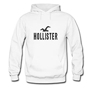 Hollister Classic Tee For mens Printed Pullover Hoodie