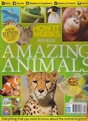 BOOK OF AMAZING ANIMALS MAGAZINE #1R2 2014, FROM HOW IT WORKS.