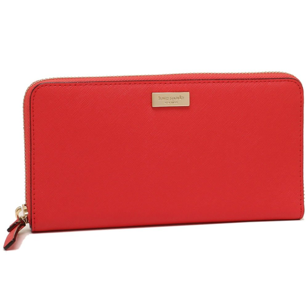 Kate Spade New York Neda Laurel Way Leather Wallet Prikly Pear