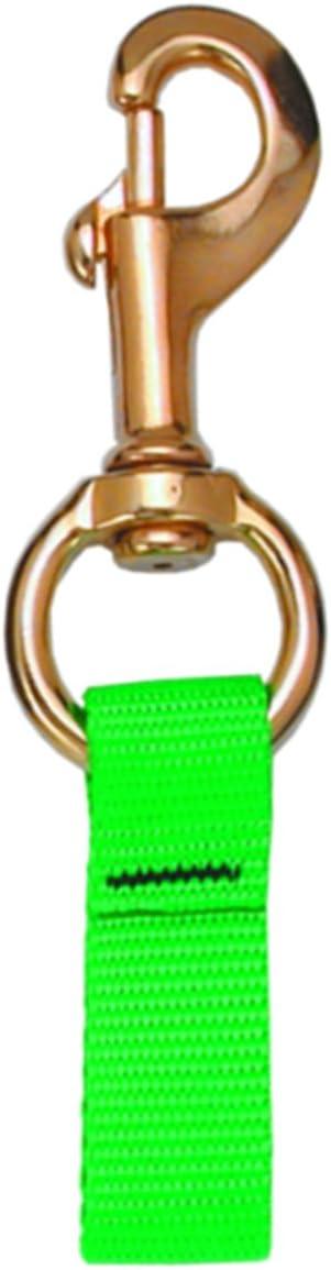 Innovative Web Loop Connector 4-1//4 Inch Brass Bolt Snap