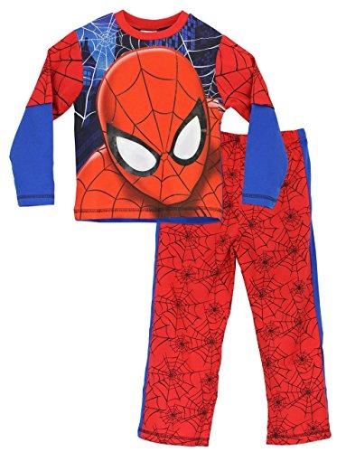 Spiderman Jungen Spider-man Schlafanzug 110