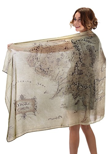 elope Lord of The Rings Middle Earth Lightweight Scarf]()