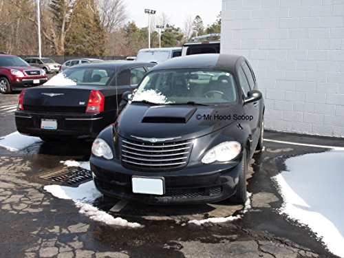 Xtreme Autosport Unpainted Hood Scoop Compatible with 2001-2010 Chrysler PT Cruiser by MrHoodScoop HS005