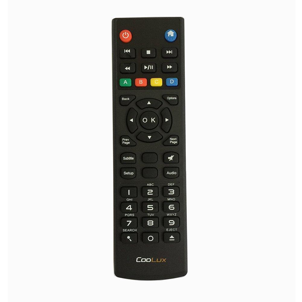 交換用リモート制御フィットfor Westernデジタルwdtv003rnnリモートコントロールIncludingモデルすべての要素TV HD Mini Live Plusハブ B01DVU2QSY